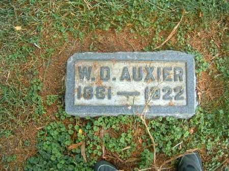 AUXIER, W   D - Clermont County, Ohio | W   D AUXIER - Ohio Gravestone Photos