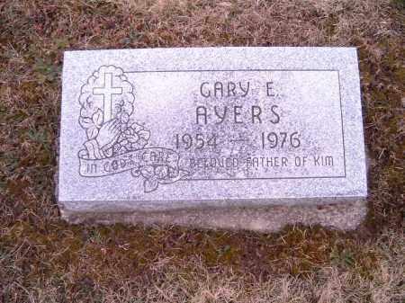 AYERS, GARY  E - Clermont County, Ohio | GARY  E AYERS - Ohio Gravestone Photos