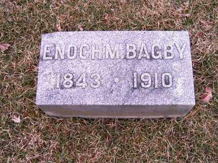 BAGBY, ENOCH  M - Clermont County, Ohio | ENOCH  M BAGBY - Ohio Gravestone Photos
