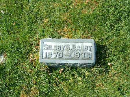 BAGBY, SILSBY  S - Clermont County, Ohio | SILSBY  S BAGBY - Ohio Gravestone Photos