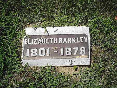 BARKLEY, ELIZABETH - Clermont County, Ohio | ELIZABETH BARKLEY - Ohio Gravestone Photos