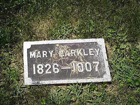 BARKLEY, MARY - Clermont County, Ohio | MARY BARKLEY - Ohio Gravestone Photos