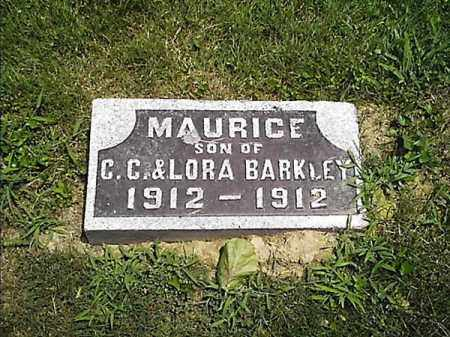 BARKLEY, MAURICE - Clermont County, Ohio | MAURICE BARKLEY - Ohio Gravestone Photos