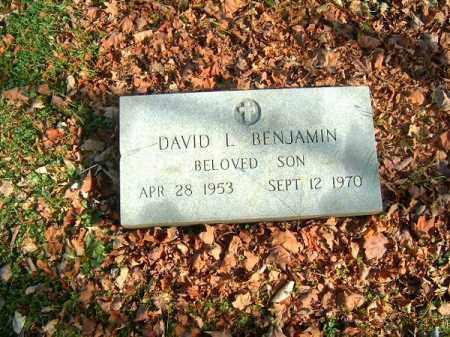 BENJAMIN, DAVID  L - Clermont County, Ohio | DAVID  L BENJAMIN - Ohio Gravestone Photos