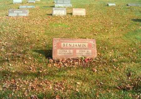 BENJAMIN, LEONA  G - Clermont County, Ohio | LEONA  G BENJAMIN - Ohio Gravestone Photos