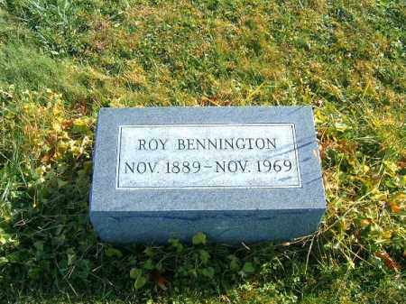 BENNINGTON, ROY - Clermont County, Ohio | ROY BENNINGTON - Ohio Gravestone Photos
