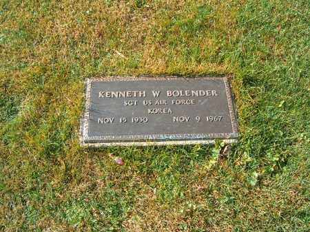 BOLENDER, KENNETH  W - Clermont County, Ohio | KENNETH  W BOLENDER - Ohio Gravestone Photos