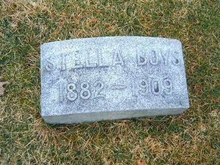 BOYS, STELLA - Clermont County, Ohio | STELLA BOYS - Ohio Gravestone Photos