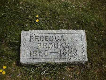 BROOKS, REBECCA  J - Clermont County, Ohio | REBECCA  J BROOKS - Ohio Gravestone Photos