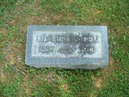 BRUMAGEM, LIDA - Clermont County, Ohio | LIDA BRUMAGEM - Ohio Gravestone Photos