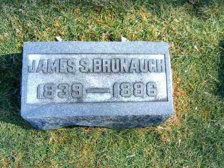 BRUNAUGH, JAMES  S - Clermont County, Ohio | JAMES  S BRUNAUGH - Ohio Gravestone Photos
