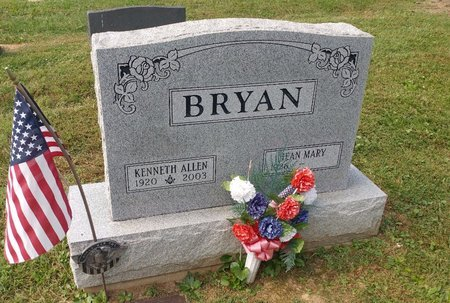 BRYAN, KENNETH ALLEN - Clermont County, Ohio | KENNETH ALLEN BRYAN - Ohio Gravestone Photos