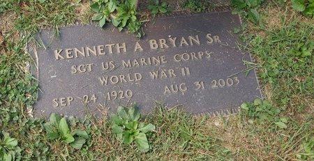 BRYAN SR., KENNETH ALLEN - Clermont County, Ohio | KENNETH ALLEN BRYAN SR. - Ohio Gravestone Photos