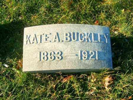 BUCKLEY, KATE  A - Clermont County, Ohio | KATE  A BUCKLEY - Ohio Gravestone Photos