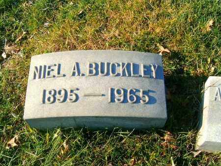BUCKLEY, NIEL  A - Clermont County, Ohio | NIEL  A BUCKLEY - Ohio Gravestone Photos
