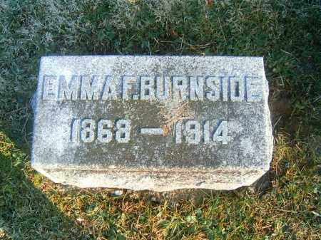 BURNSIDE, EMMA  F - Clermont County, Ohio | EMMA  F BURNSIDE - Ohio Gravestone Photos