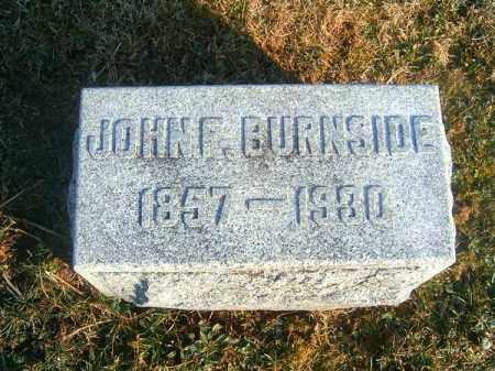 BURNSIDE, JOHN  F - Clermont County, Ohio | JOHN  F BURNSIDE - Ohio Gravestone Photos