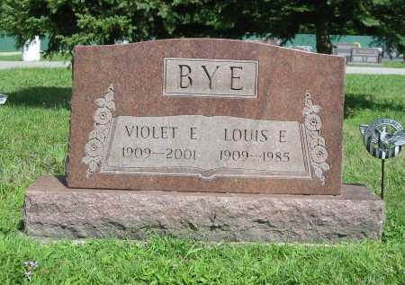 FRYE BYE, VIOLET ELEANOR - Clermont County, Ohio | VIOLET ELEANOR FRYE BYE - Ohio Gravestone Photos