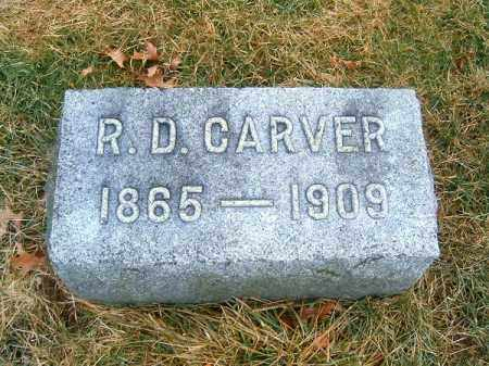 CARVER, R D - Clermont County, Ohio | R D CARVER - Ohio Gravestone Photos