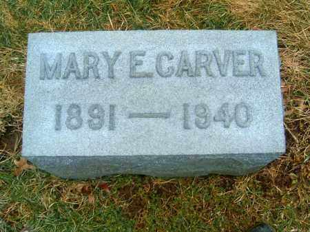 CARVER, MARY  E - Clermont County, Ohio | MARY  E CARVER - Ohio Gravestone Photos