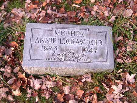 CRAWFORD, ANNIE L - Clermont County, Ohio | ANNIE L CRAWFORD - Ohio Gravestone Photos