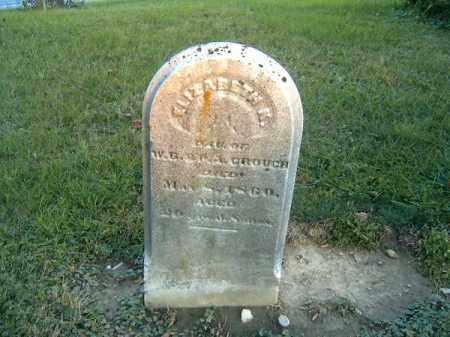 CROUCH, ELIZABETH - Clermont County, Ohio | ELIZABETH CROUCH - Ohio Gravestone Photos