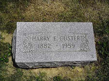 CUSTER, HARRY  L - Clermont County, Ohio | HARRY  L CUSTER - Ohio Gravestone Photos