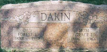 BLATT DAKIN, GRACE IDA - Clermont County, Ohio | GRACE IDA BLATT DAKIN - Ohio Gravestone Photos