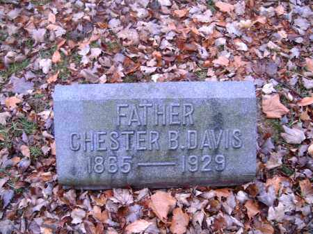 DAVIS, CHESTER  B - Clermont County, Ohio | CHESTER  B DAVIS - Ohio Gravestone Photos