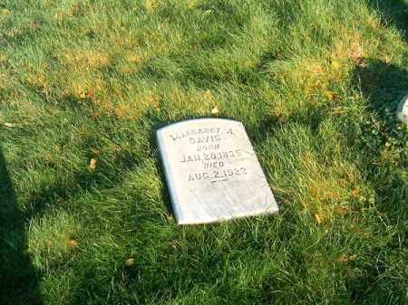DAVIS, MARGARET   A - Clermont County, Ohio | MARGARET   A DAVIS - Ohio Gravestone Photos