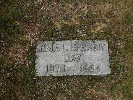 SPRAGUE DAY, IRMA  L - Clermont County, Ohio | IRMA  L SPRAGUE DAY - Ohio Gravestone Photos