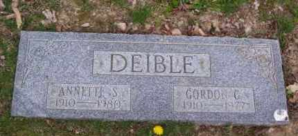 DEIBLE, ANNETTE S. - Clermont County, Ohio | ANNETTE S. DEIBLE - Ohio Gravestone Photos