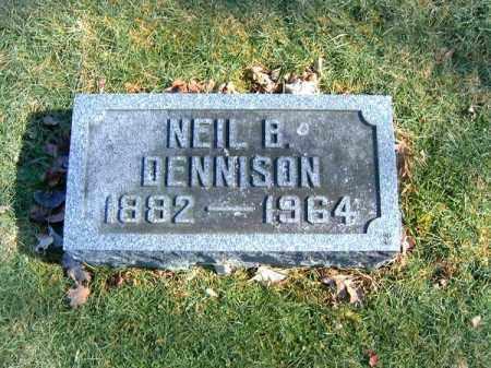 DENNISON, NEIL B - Clermont County, Ohio | NEIL B DENNISON - Ohio Gravestone Photos
