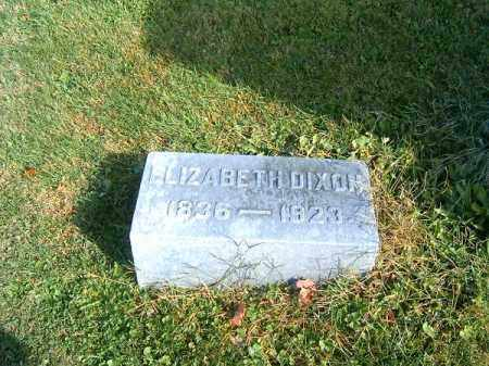 DIXON, ELIZABETH - Clermont County, Ohio | ELIZABETH DIXON - Ohio Gravestone Photos