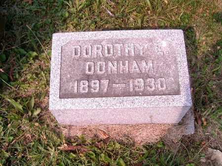 DONHAM, DOROTHY  E - Clermont County, Ohio | DOROTHY  E DONHAM - Ohio Gravestone Photos