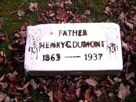 DUMONT, HENRY C - Clermont County, Ohio | HENRY C DUMONT - Ohio Gravestone Photos
