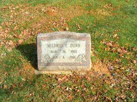 DUNN, MILDRED  E - Clermont County, Ohio | MILDRED  E DUNN - Ohio Gravestone Photos