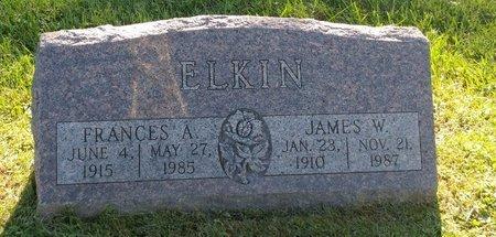 ELKIN, FRANCES A. - Clermont County, Ohio | FRANCES A. ELKIN - Ohio Gravestone Photos