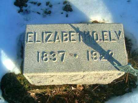 ELY, ELIZABETH  O - Clermont County, Ohio | ELIZABETH  O ELY - Ohio Gravestone Photos