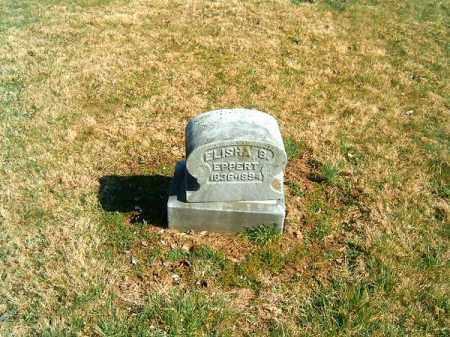 EPPERT, ELISHA  B - Clermont County, Ohio | ELISHA  B EPPERT - Ohio Gravestone Photos