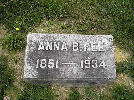 FEE, ANNA   B - Clermont County, Ohio | ANNA   B FEE - Ohio Gravestone Photos