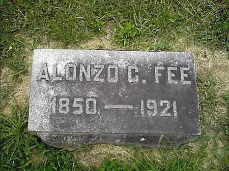 FEE, ALONZO  C - Clermont County, Ohio | ALONZO  C FEE - Ohio Gravestone Photos