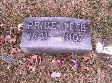 FEE, PRICE  T - Clermont County, Ohio | PRICE  T FEE - Ohio Gravestone Photos
