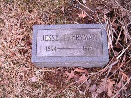FRYMAN, JESSIE  L - Clermont County, Ohio | JESSIE  L FRYMAN - Ohio Gravestone Photos
