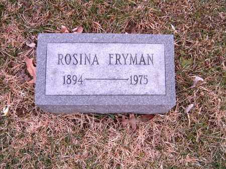 FRYMAN, ROSINA - Clermont County, Ohio | ROSINA FRYMAN - Ohio Gravestone Photos