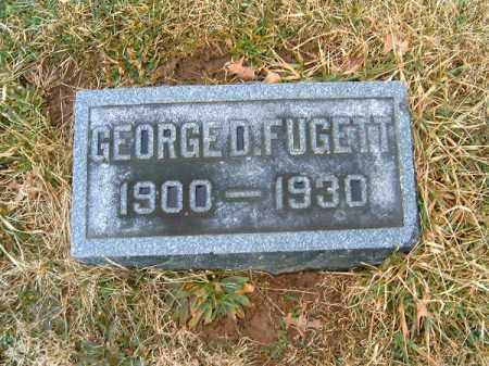 FUGETT, GEORGE  D - Clermont County, Ohio | GEORGE  D FUGETT - Ohio Gravestone Photos