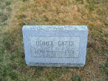 GATTS, HOMER - Clermont County, Ohio | HOMER GATTS - Ohio Gravestone Photos