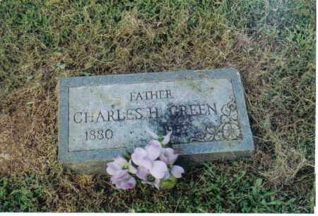 GREEN, CHARLES H. - Clermont County, Ohio | CHARLES H. GREEN - Ohio Gravestone Photos