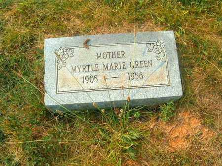 GREEN, MYRTLE MARIE - Clermont County, Ohio | MYRTLE MARIE GREEN - Ohio Gravestone Photos