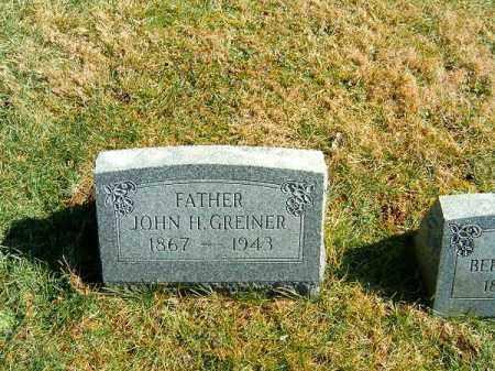 GREINER, JOHN   H - Clermont County, Ohio | JOHN   H GREINER - Ohio Gravestone Photos